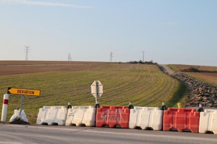 Le 24 janvier 2011, les travaux du barreau d'accès RD12 - VC5 ont commencé.