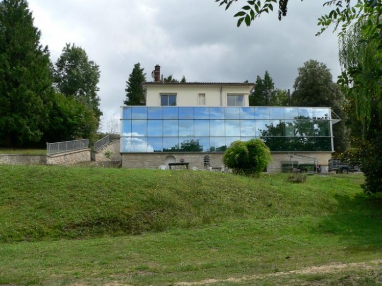 Siège de la CdC au Paradis à Balzac (Ph. CdC 2005)